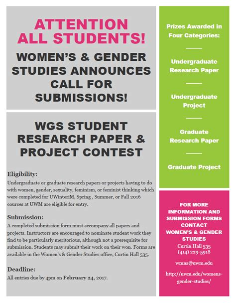research paper contest uwm student research paper project contest s