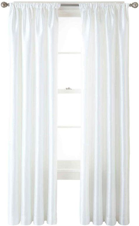 liz claiborne curtains liz claiborne gallery taffeta rod pocket curtain panel