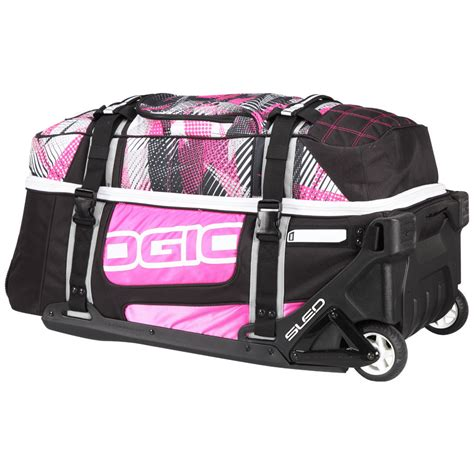 Ogio New Rig 9800 Bolt Pink Gearbag Mx Luggage Travel