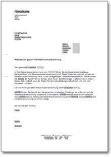 Musterbriefe Nebenkostenabrechnung musterbriefe dokumente 214 sterreich 187 dokumente vorlagen