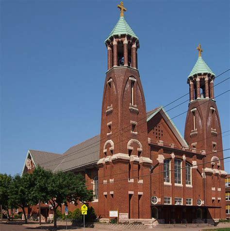 the st paul mn church of st bernard paul minnesota