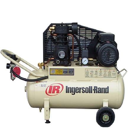 electric reciprocating air compressor 7cfm 10 ingersoll rand el17 caps shop