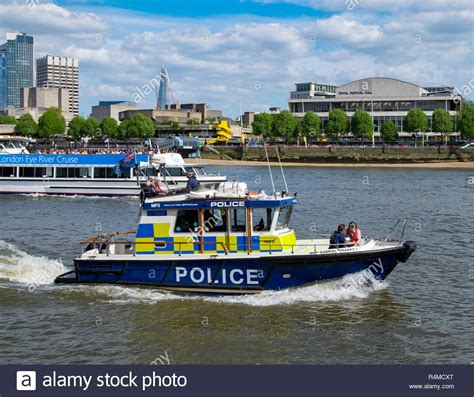 boats on the thames river thames police boat stock photos river thames