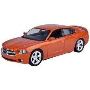 Orange 2011 Dodge Charger Motormax 2011 Dodge Charger Rt Orange Scale 1 24