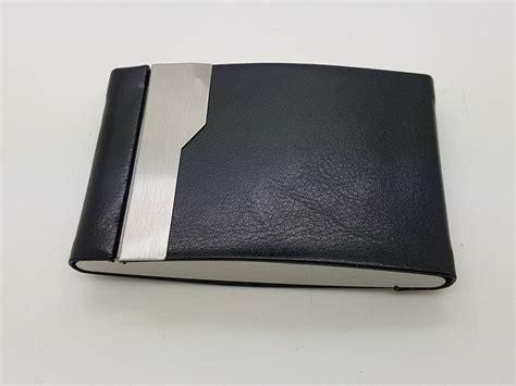 Dompet New Kualitas Bagus dompet kartu dengan bahan kulit tempat kartu elegan dengan dua sisi penyimpanan harga jual