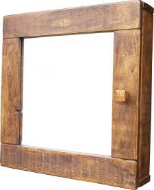 Wooden Mirrored Bathroom Cabinets Bathroom Cabinet Mirror The Cool Wood Company