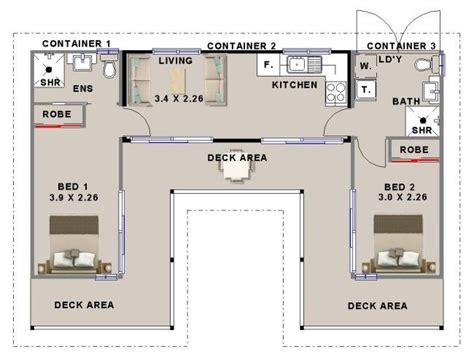 Container Home Floor Plan The 25 Best Ideas About 40 Container Dimensions On