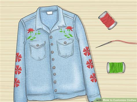 8 Ways To Customise Your Clothes by 4 Ways To Customize Clothes Wikihow