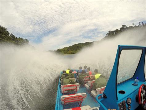 jet boat up waterfall pacific harbour since renamed as pacific coast the