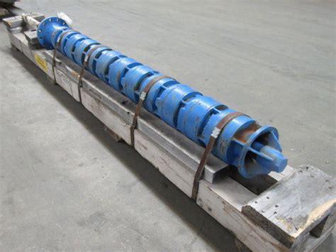 flowserve   vertical immersion turbine pump  stage