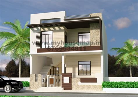 3d floor plan front elevation design house map building