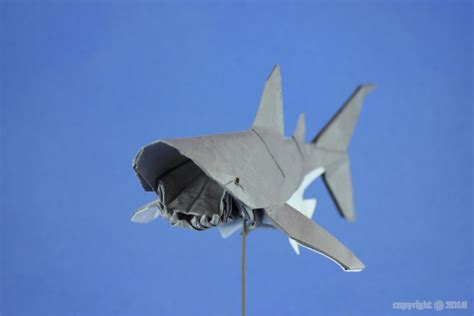 Great Origami - great white shark