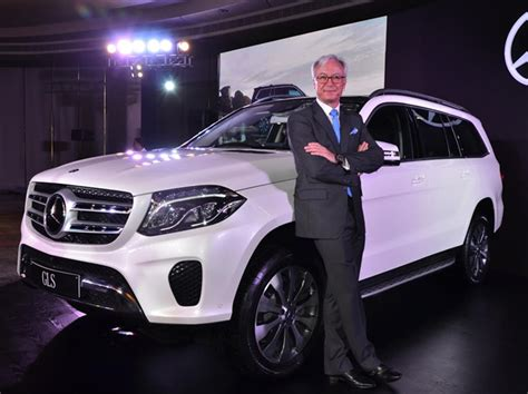 mercedes suv 7 seater mercedes launches upgraded 7 seater suv gls 350d at
