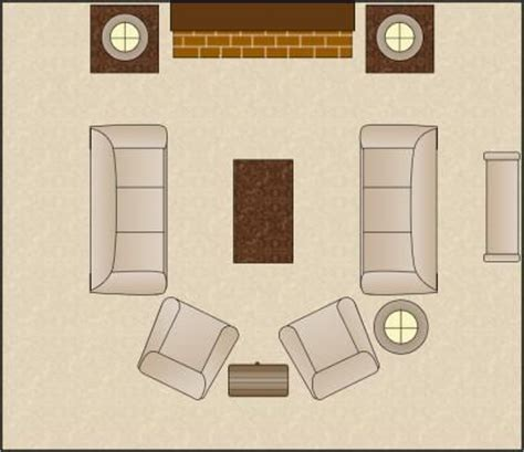 Furniture Arranging Tool | symmetrical living room arrangement furniture arranging