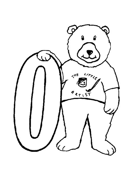 coloring pages for zero number zero coloring pages coloring home