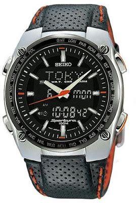 Seiko Quartz Spl031p1 World Timer Alarm Jam Tangan Pria Spl031 leather pouch analog digital combo