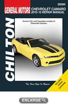 free auto repair manuals 1968 chevrolet camaro electronic toll collection chevy camaro chilton repair manual 2010 2015 hay28285