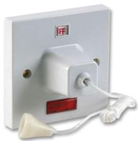 Bathroom Ceiling Light Pull Cord Switch Nucleus Home 45a Pull Cord Ceiling Switch With Neon Indicator 1 5m Cord Pro Elec Cpc Uk