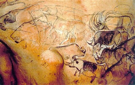 painting section robbservations cave paintings of chauvet