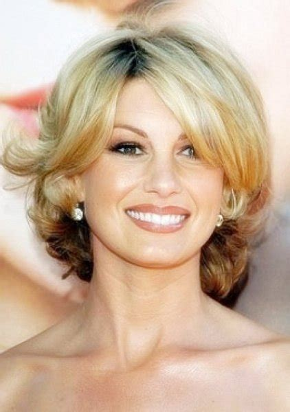 hairstyles with bangs over 40 cute short hairstyles for women over 40 with side bangs