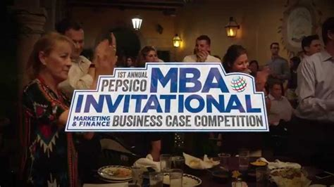 Mba 1st Year Us Competition by 1st Annual Pepsico Mba Invitational Competition
