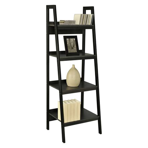 leaning ladder bookshelves leaning ladder bookshelves plans for office