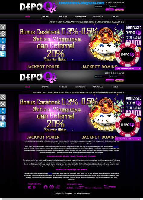 depoqqnet agen bandarq domino qiu qiu aduqq dominoqq poker  indonesia zona kontes