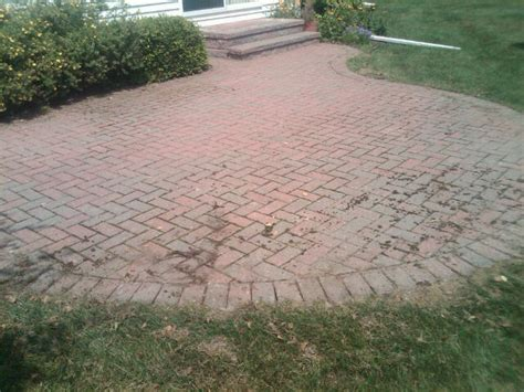 Sealing A Paver Patio Brick Pavers Canton Plymouth Northville Arbor Patio Patios Repair Sealing
