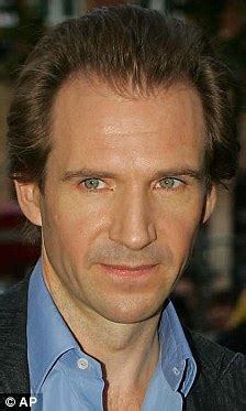 actor with receding hairline ralph fiennes sporting bushy beard and receding hairline