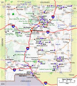 New Mexico Map Of Cities by Deming New Mexico Map Cities Map Of New Mexico