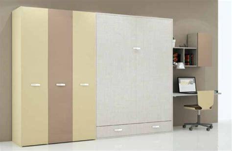 letto nell armadio cheap armadio letto con zona studio with letto nell armadio