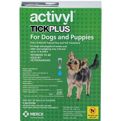 activyl tick plus for dogs activyl tick plus for dogs tick and flea activyl breeds picture