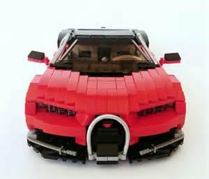 Lego Bugatti Veyron Bugatti The Lego Car