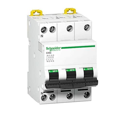 Saklar Mcb schneider mcb acti9 ic60n 3p 10a c miniature circuit b