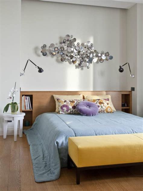 schlafzimmer dekorieren 55 ideen f 252 r wandgestaltung co - Schlafzimmer Deko Wand