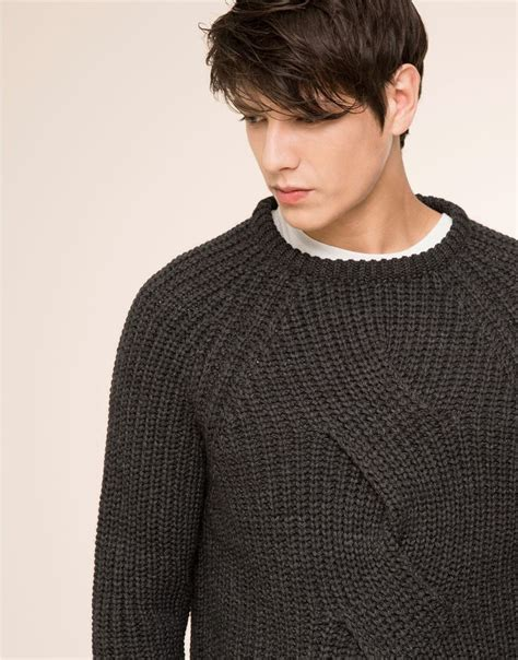 aaron knit aaron gatward pull maxicable knit sweater 9559563