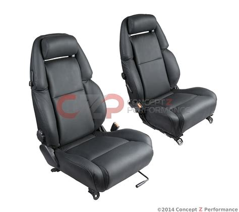 upholstery parts nissan oem reupholstered leather seats nissan 300zx 90