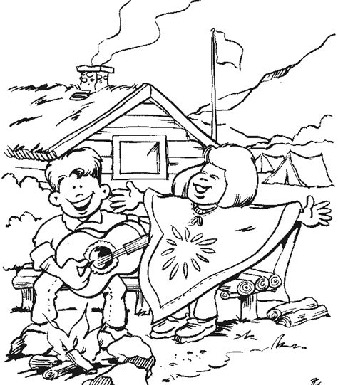 Scouts Coloring Pages Scouts Coloring Pages Free