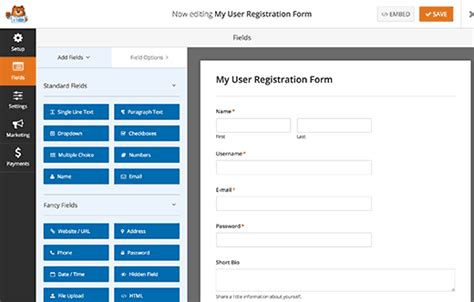 user registration form template how to stop spam registrations on your