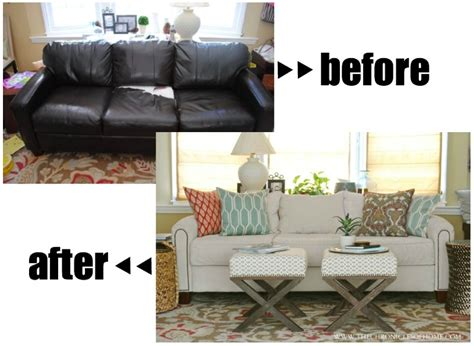 leather sofa recovering how to reupholster a chair gardens blog and diy furniture
