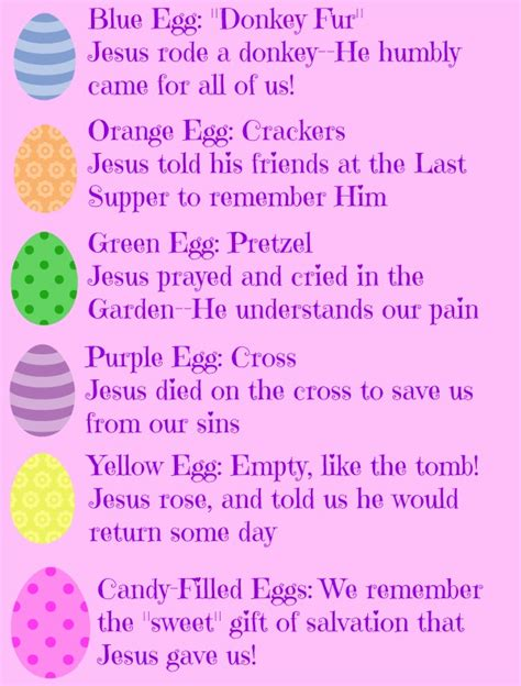 what is significance of easter object lesson easter egg hunt teach about jesus