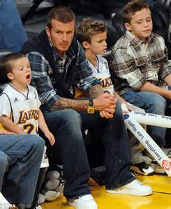 Beckhams To Quit La by Beckham Must Quit La To Keep World Cup Hopes Alive After