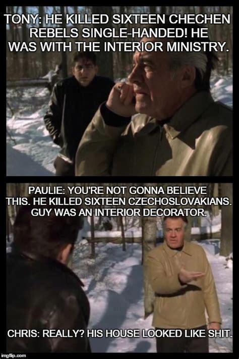 Sopranos Meme - frost pine imgflip