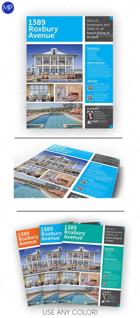 estate brochure template 17 best images about flyers on poster designs