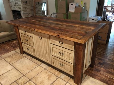 hand built rustic kitchen island house food baby 25 unique rustic shabby chic ideas on pinterest white