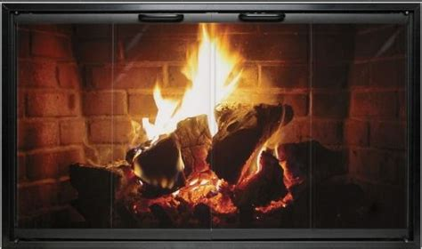 Wood Burning Fireplace Glass Doors by Fireplace Glass Doors Should Always Remain Open While The