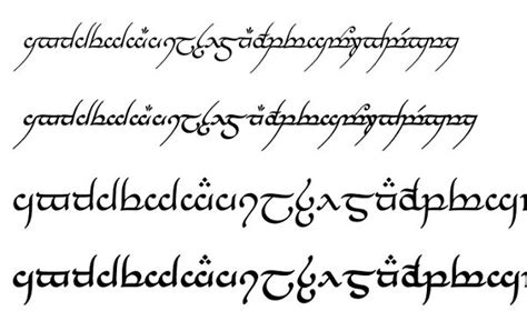 tattoo fonts elvish 30 best free fonts 2015