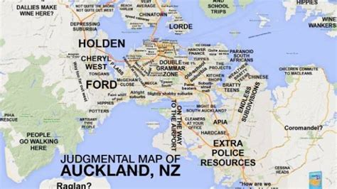 map world auckland auckland gets judgmental maps treatment stuff co nz
