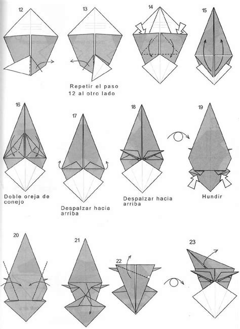 How To Make A Paper Wolf - 1000 images about origami on