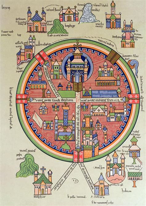 ancient map of jerusalem ancient map of jerusalem and palestine featured